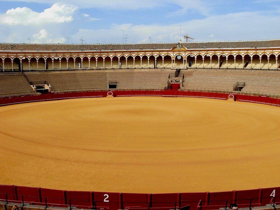 plaza de toros siviglia da vedere