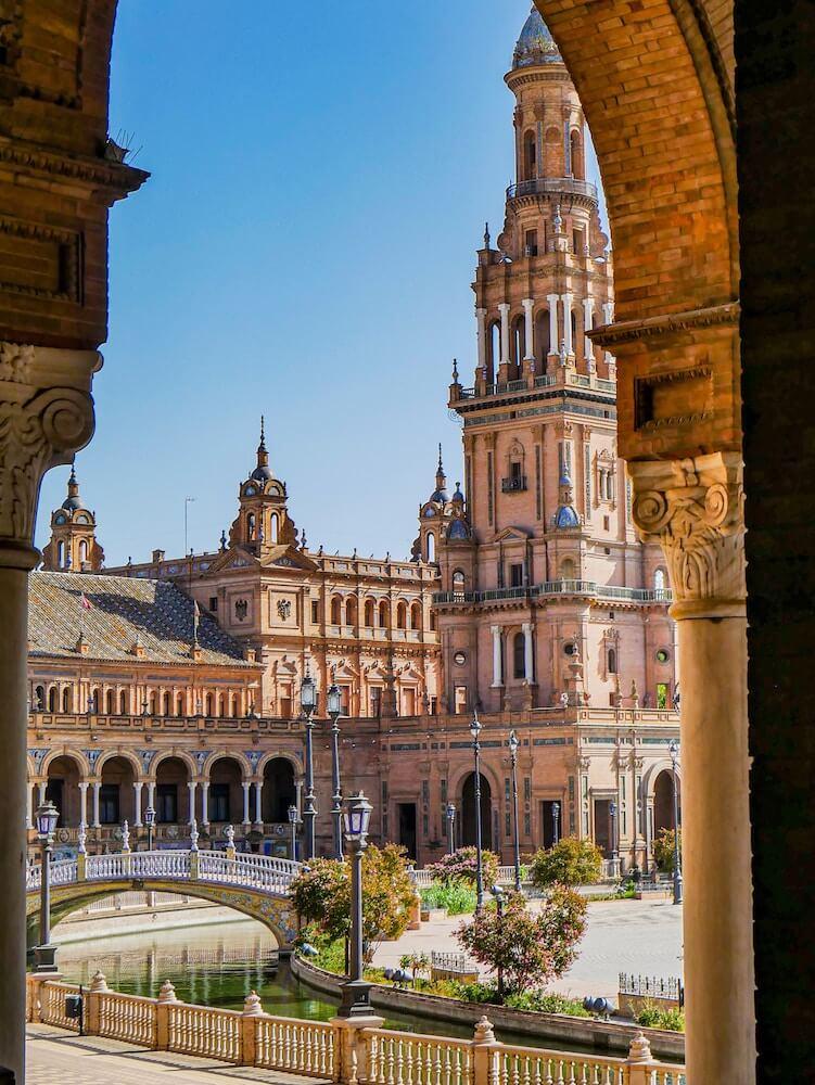 plaza espana da visitare siviglia