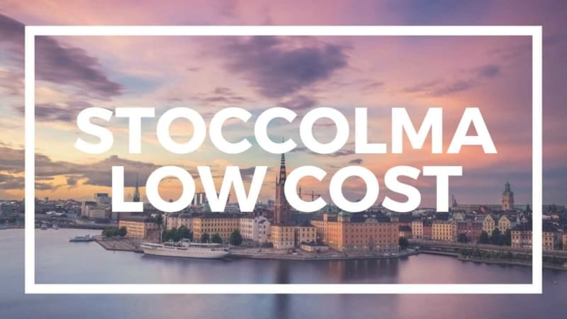 visitare stoccolma low cost