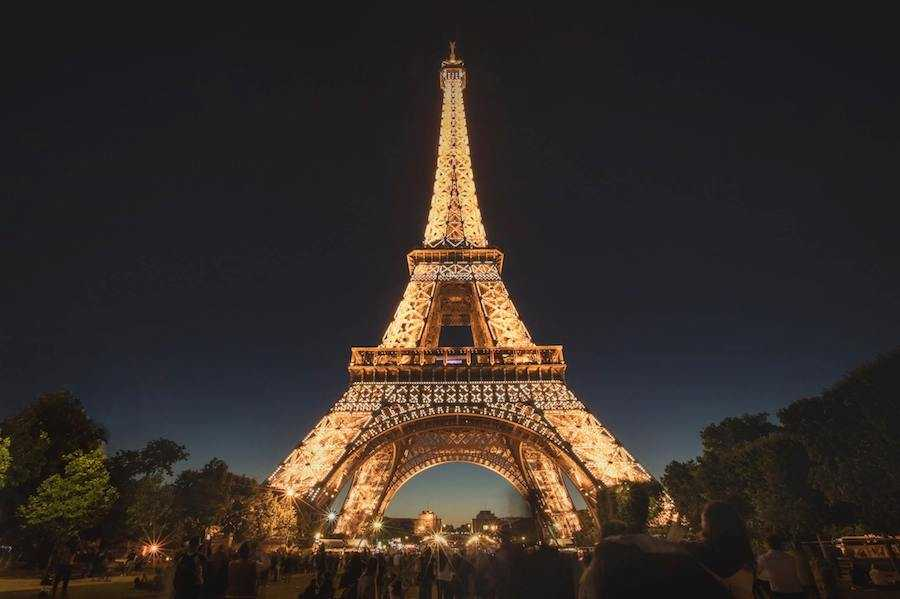 Tour Eiffel Altezza