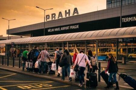 aeroporto praga