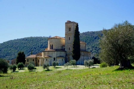 abbazia sant antimo val d orcia