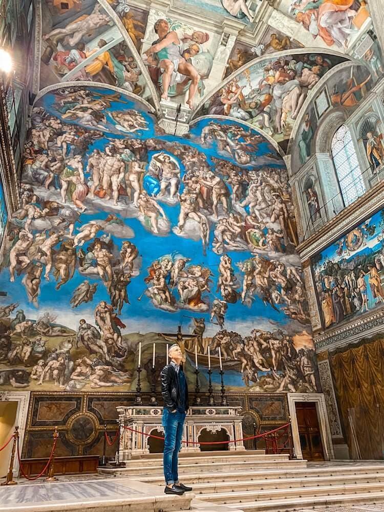 andrea petroni cappella sistina musei vaticani