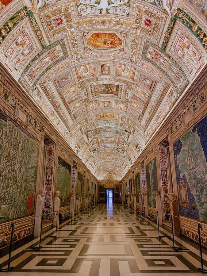 galleria carte geografiche musei vaticani