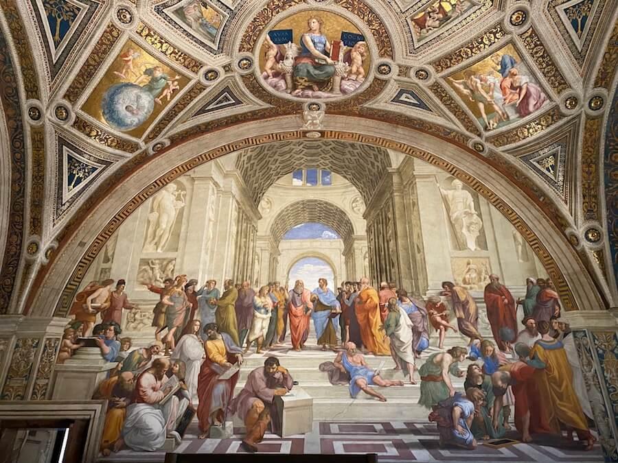 scuola atene musei vaticani