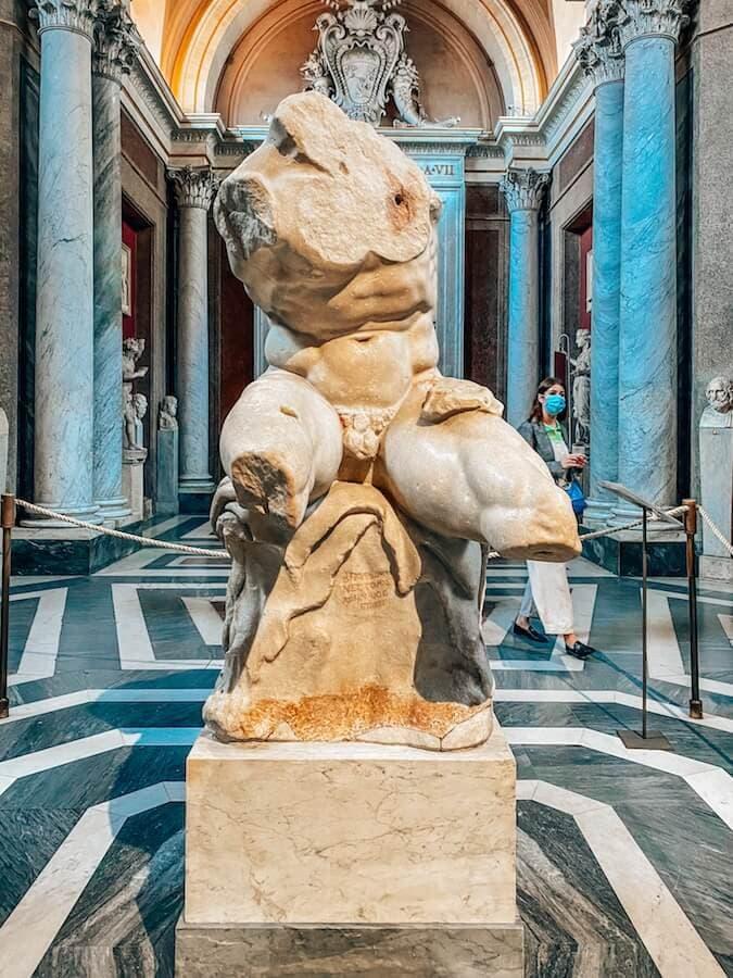 torso belvedere musei vaticani
