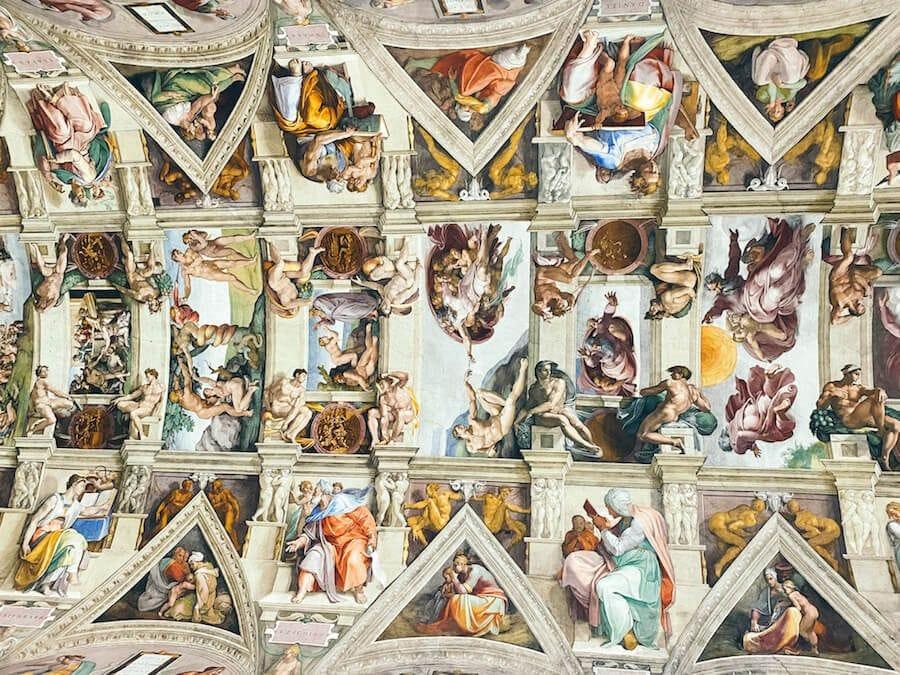 volta cappella sistina musei vaticani