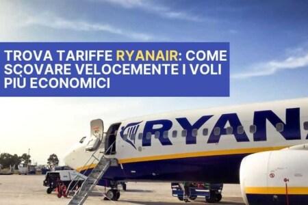 ryanair trova tariffe 2