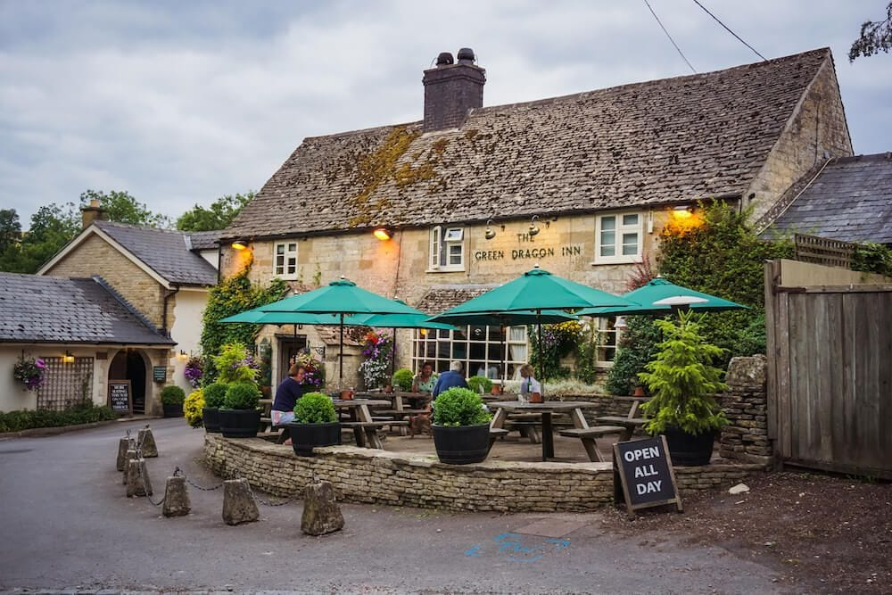 the green dragon inn cotswolds