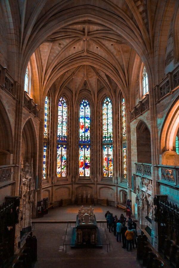 bourg-en-bresse monastero di brou