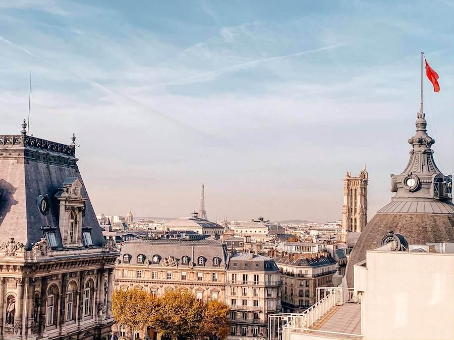 panorama tetti parigi