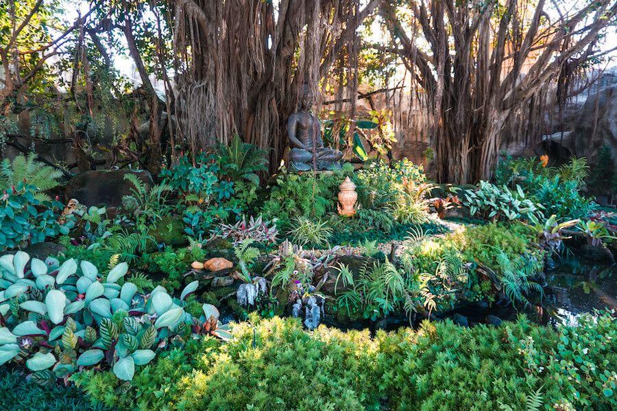 giardino wat rong khun