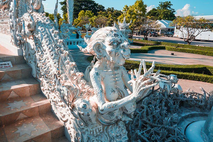 tempio bianco thailandia 2