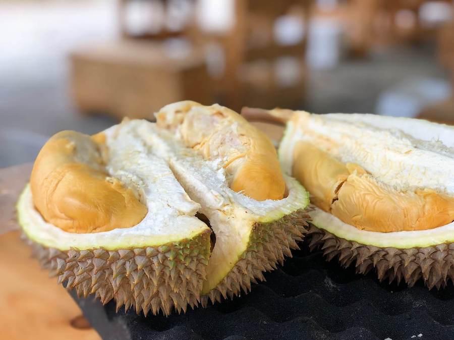 durian frutto thailandese