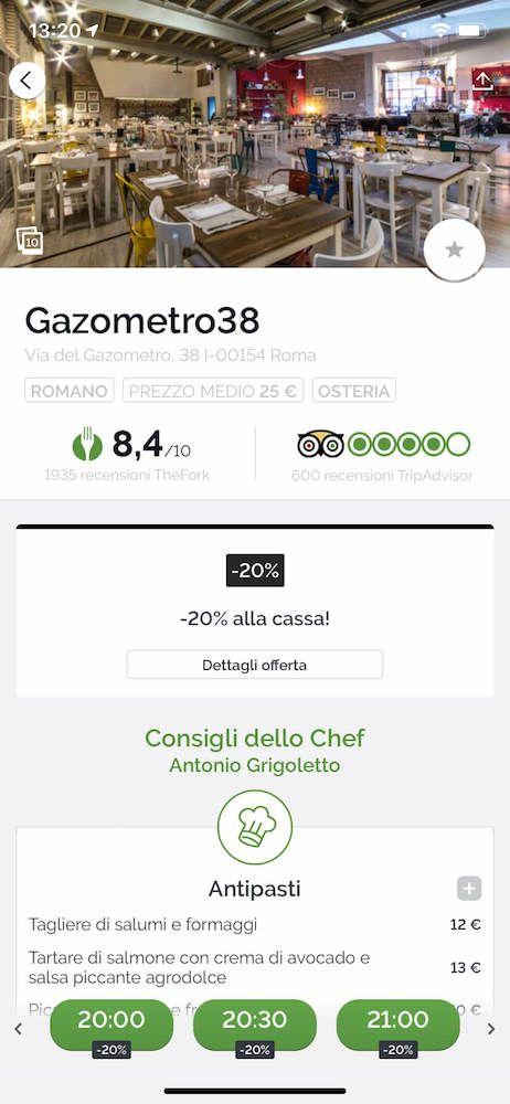 thefork roma gazometro38