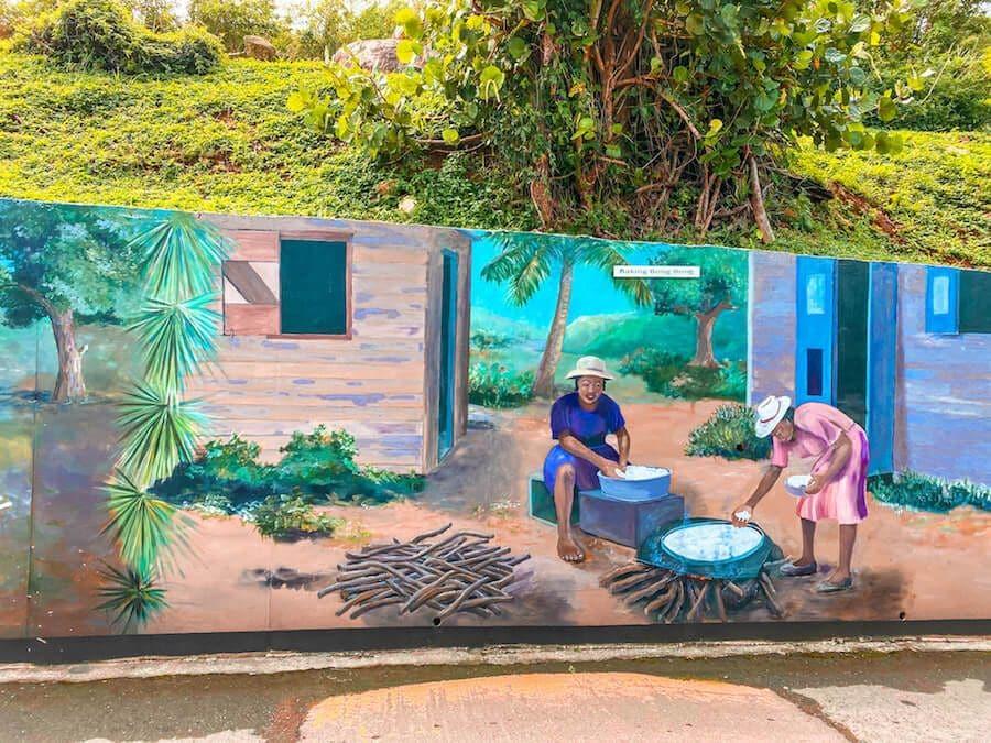 murales tortola isole vergini britanniche