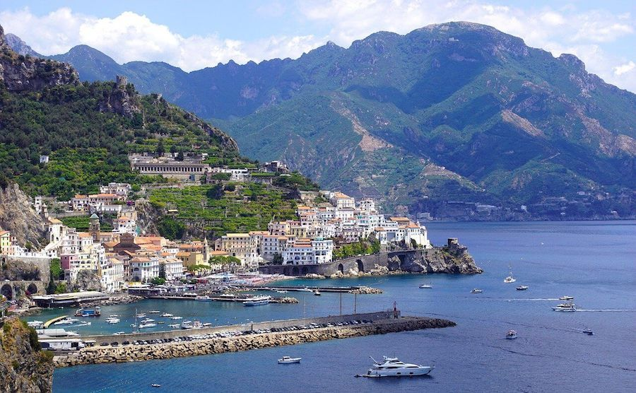 costiera amalfitana sito UNESCO italia