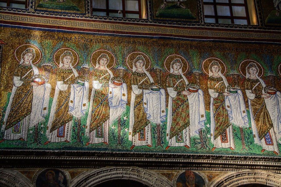 mosaici ravenna patrimonio unesco italia