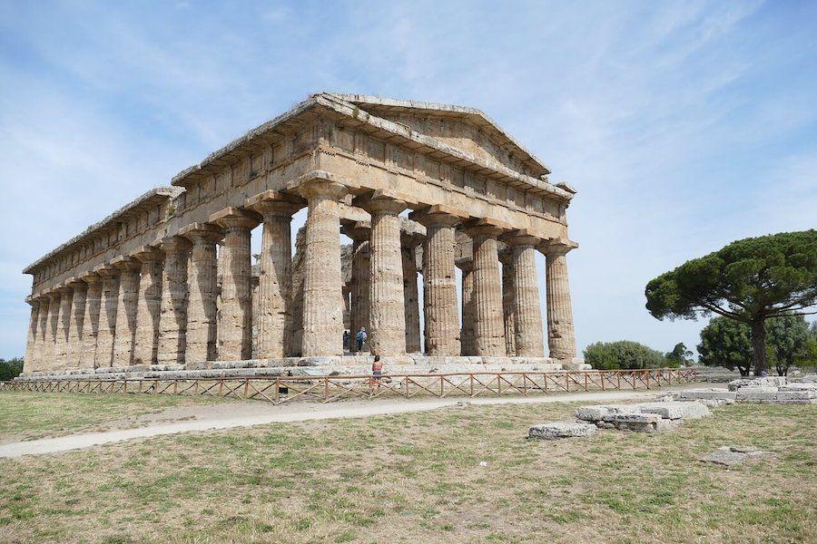 paestum sito UNESCO italia