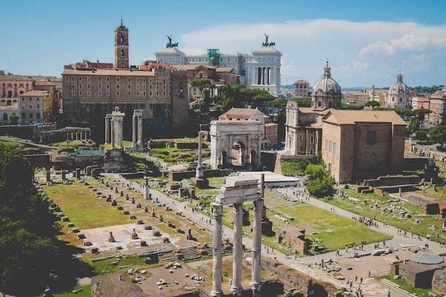 roma fori imperiali sito unesco italia
