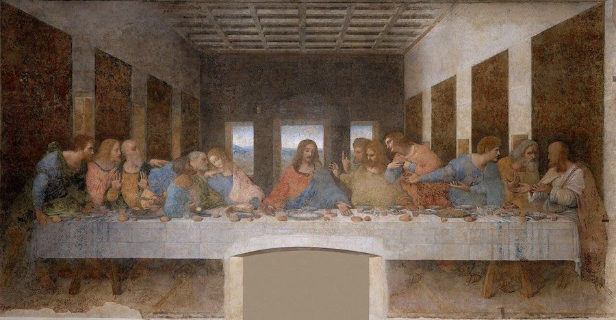 ultima cena leonardo da vinci UNESCO