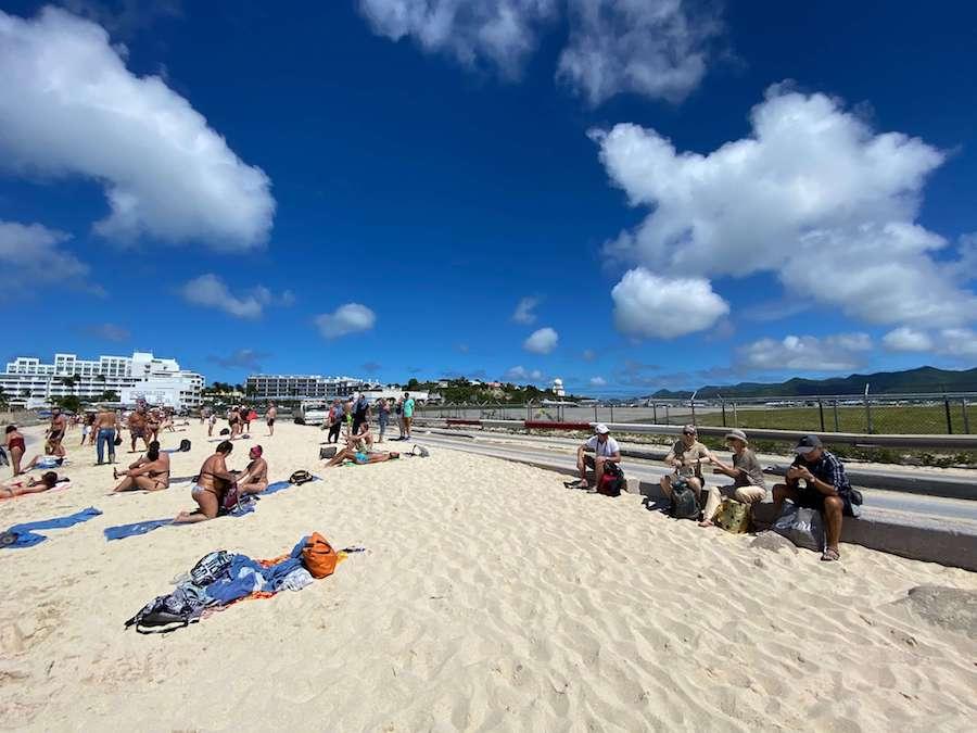 aeroporto sint maarten maho beach