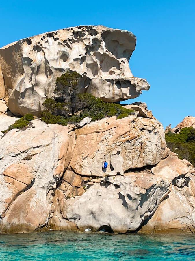 arcipelago maddalena rocce spargi
