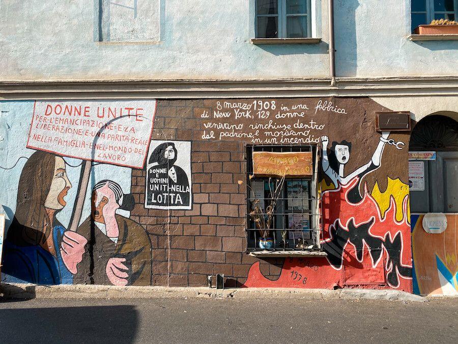 orgosolo murales donne