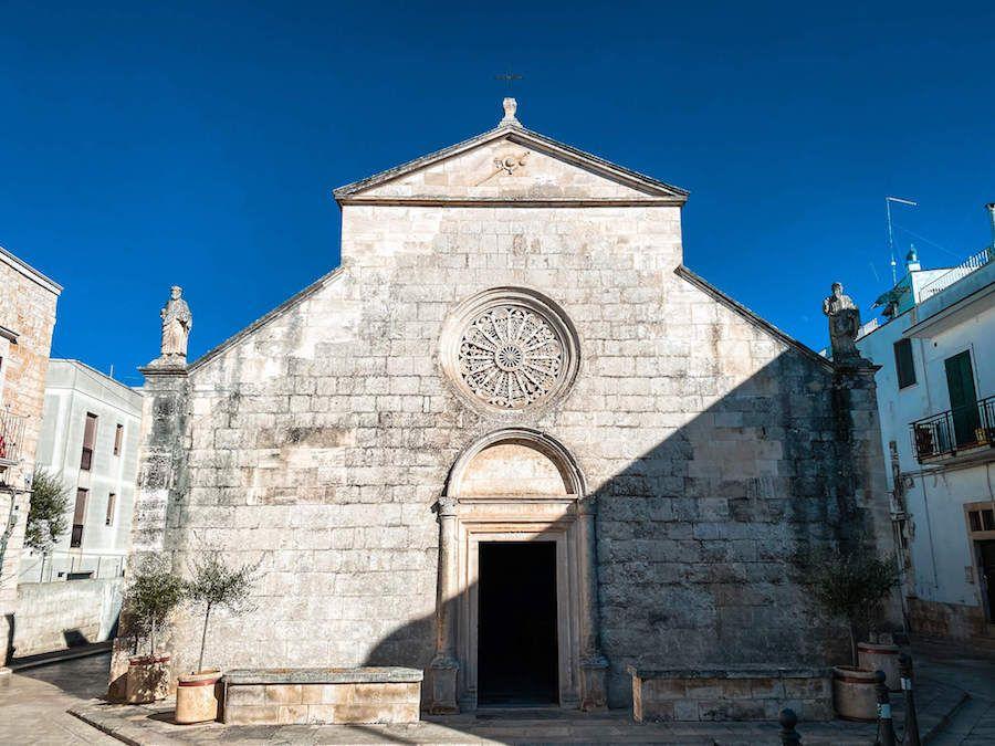 locorotondo chiesa santa maria greca