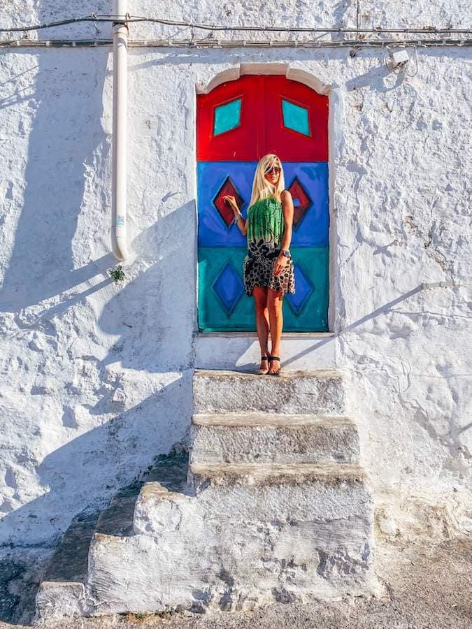 ostuni porta colorata valentina venanzi