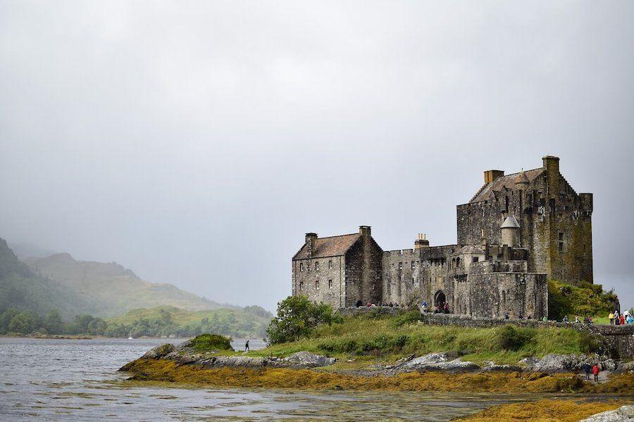 Eilean Donan castello disney