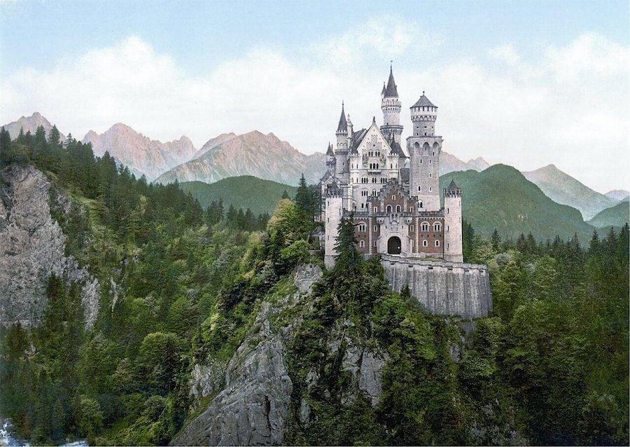 castello cenerentola neuschwanstein