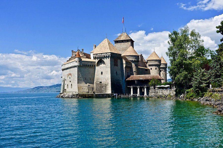 castello chillon disney sirenetta
