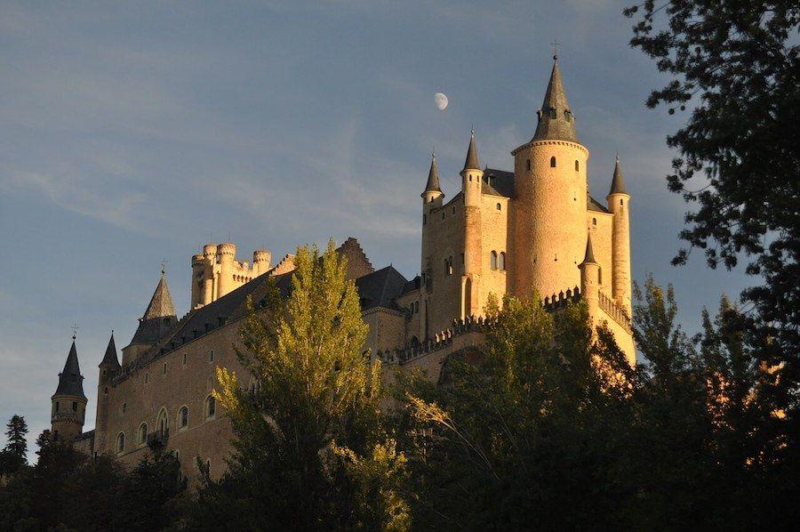 castello disney biancaneve alcazar segovia
