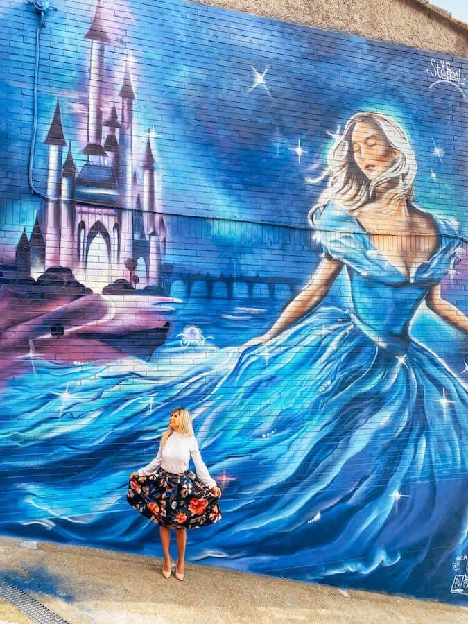 murale cenerentola sant angelo valentina venanzi