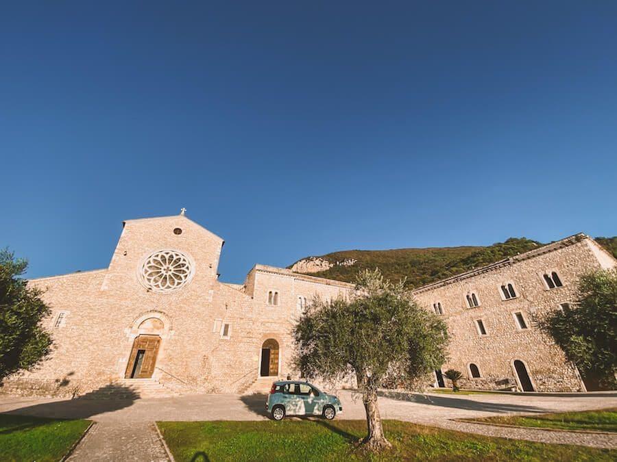 abbazia valvisciolo
