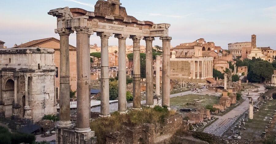 panorama roma campidoglio