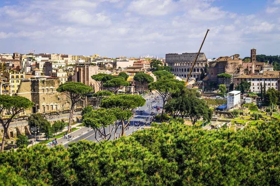 panorami roma vittoriano