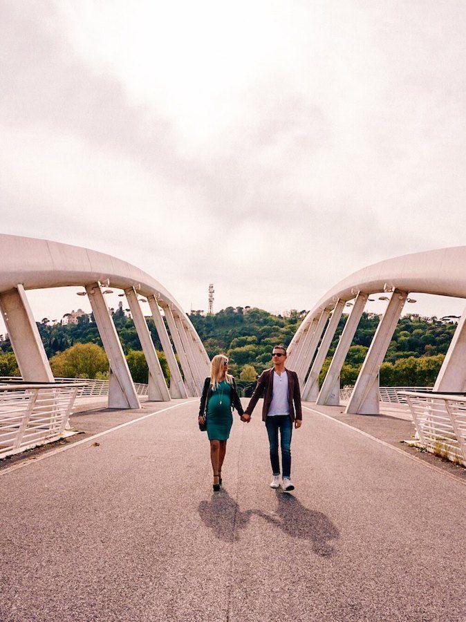 scattare foto roma ponte musica
