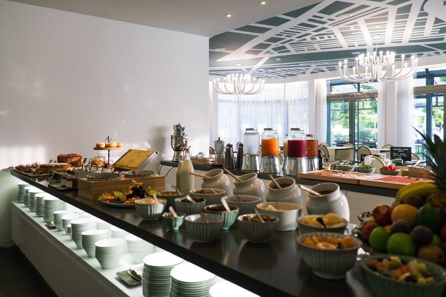 buffet colazione hotel luise