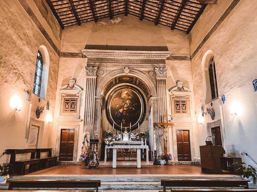 basilica sant'aurea borgo ostia antica