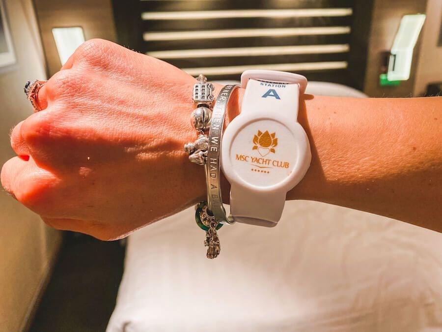 braccialetto msc for me