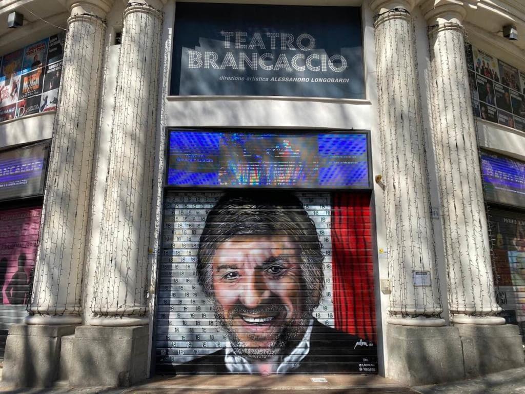street art roma gigi proietti brancaccio