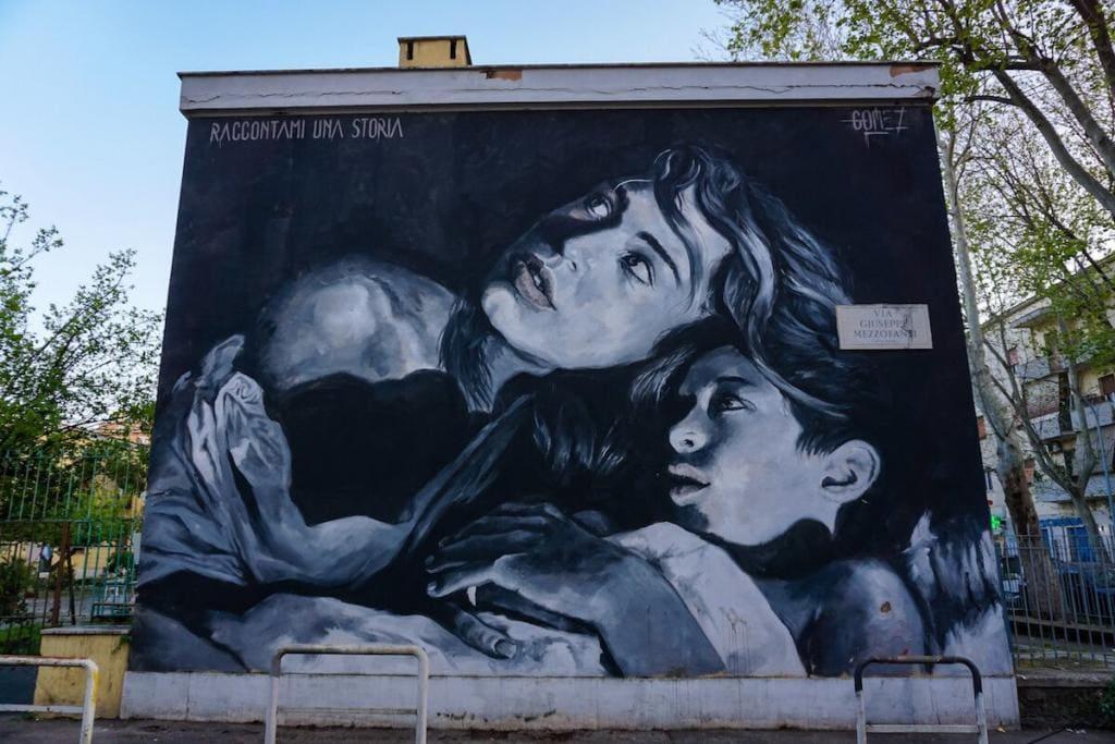 street art roma primavalle