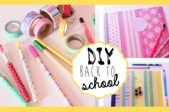 DIY: Decoriamo quaderni, block notes& matite!