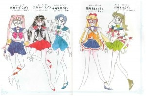 sailor moon uniforme