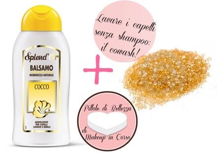 Come lavare i capelli senza shampoo: il cowash!