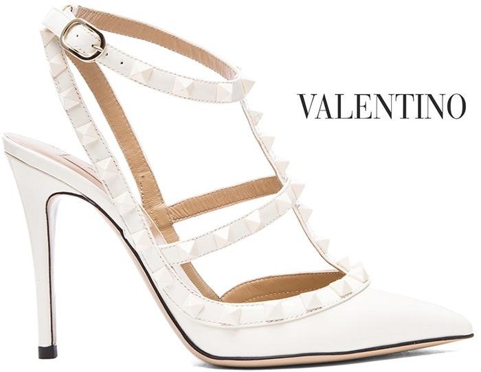 12eba3c719c5 Valentino-Rockstud-Slingback-Pump-Shop- scarpe da sposa ...