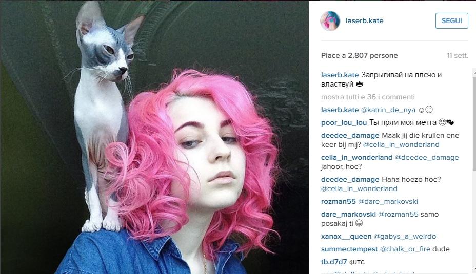 hair tattoo gatto Instagram