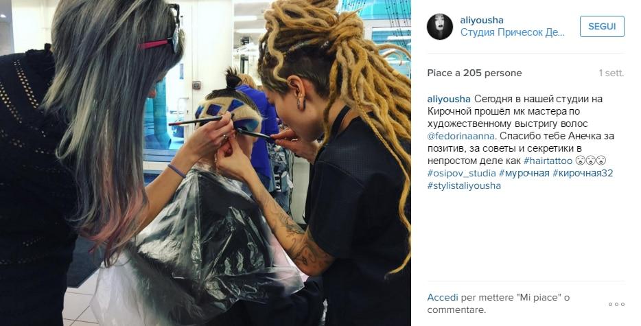 hair tattoo gatto Instagram 2